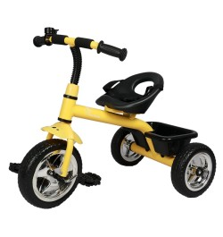 R for Rabbit Tiny Toes - The Smart Plug and Play Tricycle (Yellow)