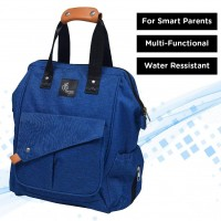 R for Rabbit Caramello Delight Diaper Bags- Smart and Fashionable Diaper Bag for Moms (Blue)