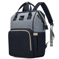 R for Rabbit Caramello Diaper Bags- The Smart and Fashionable Diaper Bag for Moms (Black Grey)