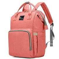 R for Rabbit Caramello Diaper Bags- The Smart and Fashionable Diaper Bag for Moms (Pink)
