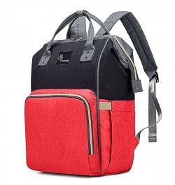 Buy R for Rabbit Caramello Diaper Bags- The Smart and Fashionable Diaper Bag for Moms (Red Black) Online in India