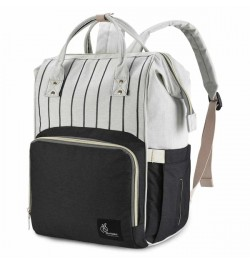 Buy R for Rabbit Diaper Bags Caramello for Smart Moms Black Stripes Online in India