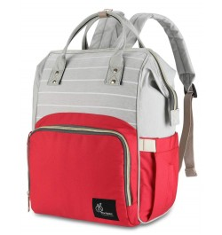 Buy R for Rabbit Diaper Bags Caramello for Smart Moms Red Stripes Online in India