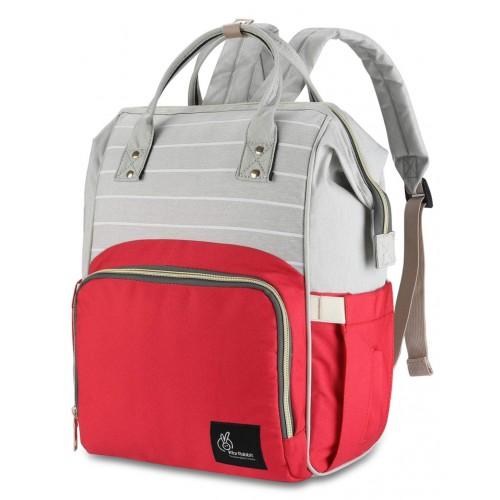 R for Rabbit Diaper Bags Caramello for Smart Moms Red Stripes