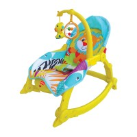Luvlap Jungle Hut Toddler Rocker