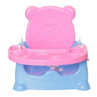 Honey Bee 5 in 1 Baby Booster Seat Cum Swing (Multicolour) - Color may vary