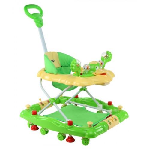 Luvlap Comfy Baby Walker – Green