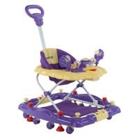 Luvlap Comfy Baby Walker – Purple