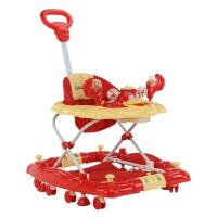 Luvlap Comfy Baby Walker – Red