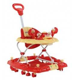Luvlap Baby Walker – Red