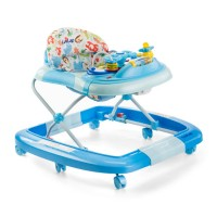 Luvlap Grand Baby Walker With Rocker – Blue