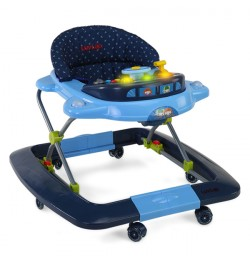 baby walker low price – Sky Blue