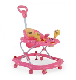 Luvlap Sunshine Baby Walker – Pink