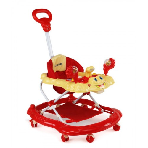Luvlap Sunshine Baby Walker – Red