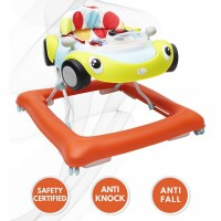 R for Rabbit F1 Racer - The Smart Car Shape Anti Fall Baby Walker with Adjustable Height and Music