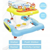 R for Rabbit TiK Tok - 4 in 1 Baby Walker Cum Activity Center