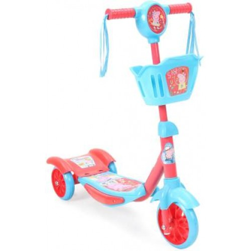 Peppa Pig 3 Wheel Scooter with Flashing Light