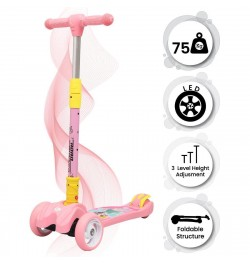 baby scooter Scooter for Kids (Pink)