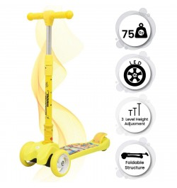 toy scooter (Yellow)