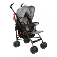 Mee Mee Lightweight Baby Stroller with Adjustable Reclining Seat (Gray)