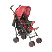 Mee Mee Lightweight Baby Stroller with Adjustable Reclining Seat (Red)