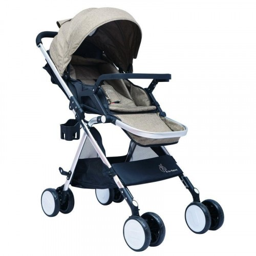 R for Rabbit Giggle Wiggle - The Feather Light Stroller (Brown)