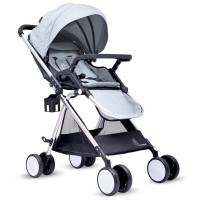 R for Rabbit Giggle Wiggle - The Feather Light Stroller (Grey)