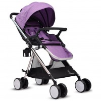 R for Rabbit Giggle Wiggle - The Feather Light Stroller (Purple)