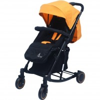 R for Rabbit Rock N Roll - The Rocking Baby Stroller and Pram for Babies (Yellow Black)