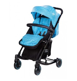 Mee Mee Advanced Baby Pram with Rocker Function (Blue)