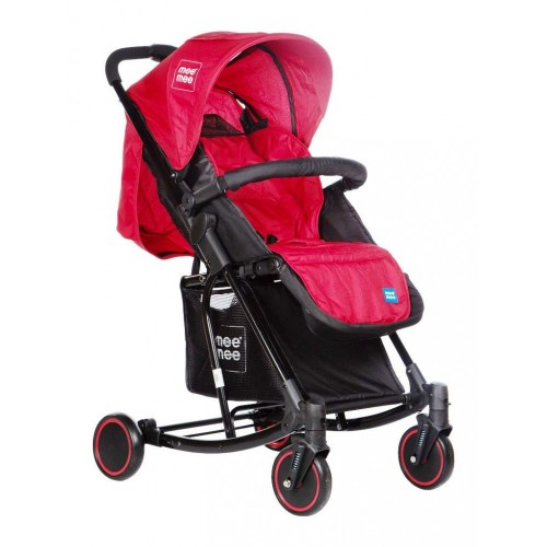 Mee Mee Advanced Baby Pram with Rocker Function (Red)