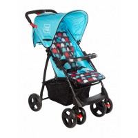 Mee Mee Compact Folding Baby Pram with Multiple Seating Position (Blue)