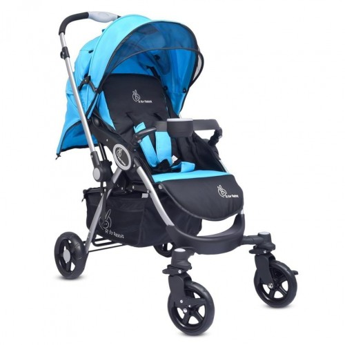 R for Rabbit Chocolate Ride - The Designer Pram (Blue Black)