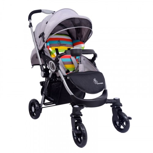 R for Rabbit Chocolate Ride - The Designer Pram (Rainbow)