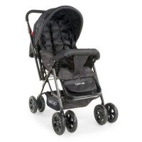 Luvlap Blossom Stroller – Black