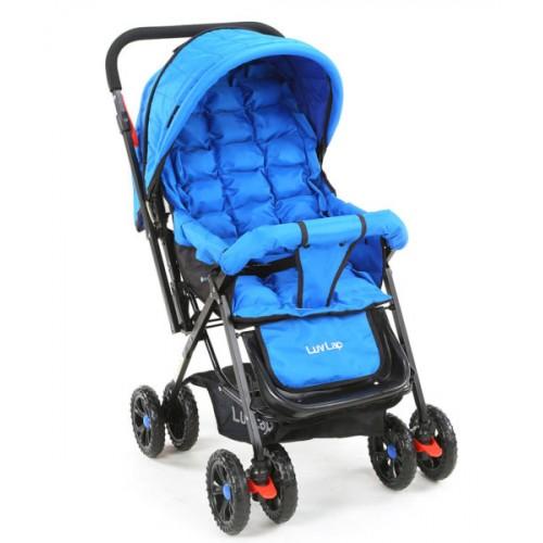 Luvlap Blossom Stroller – Blue
