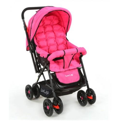Luvlap Blossom Stroller – Pink