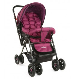 Buy Luvlap Blossom Stroller – Purple Online in India