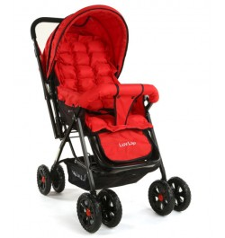 Buy Luvlap Blossom Stroller – Red Online in India