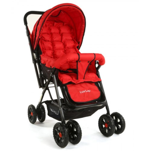 Luvlap Blossom Stroller – Red