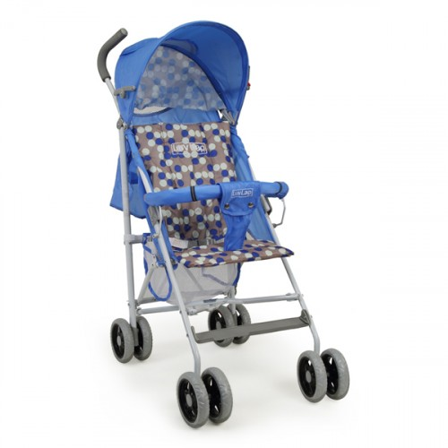 Luvlap Comfy Baby Buggy – Blue
