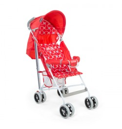 Buy Luvlap Comfy Baby Buggy – Red Online in India