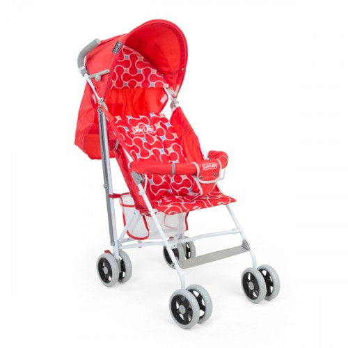 Luvlap Comfy Baby Buggy – Red