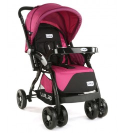 Luvlap Galaxy Stroller – Pink & Black