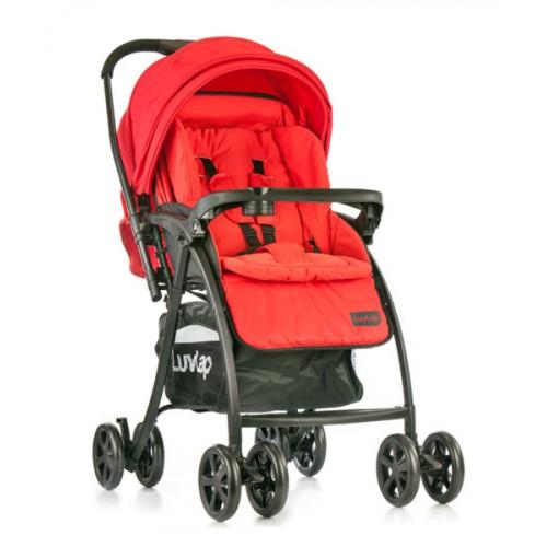 Luvlap Grand Baby Stroller – Red