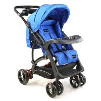 Luvlap Sports Stroller – Blue/Black