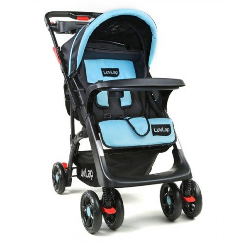Luvlap Sports Stroller – Blue+Black