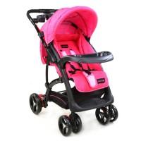 Luvlap Sports Stroller – Pink / Black