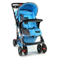 Luvlap Sports Stroller – Printed Blue