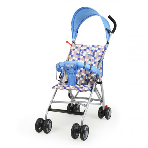 Luvlap Sunshine Baby Buggy – Blue
